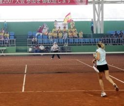 Soft tennis Spain doubles