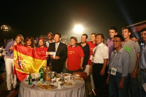 Spain team Korea Farewell party