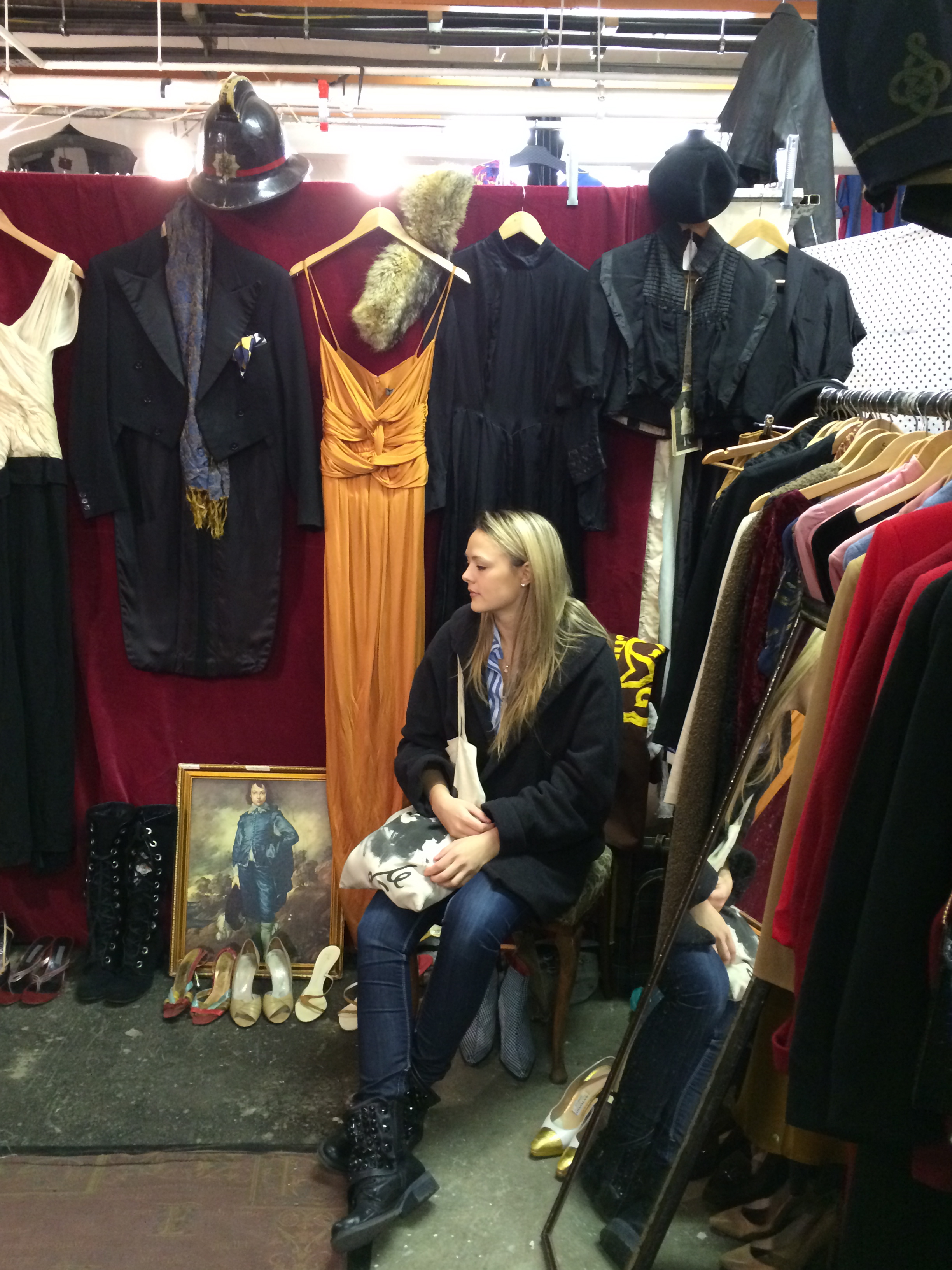Get the London Look - Vintage Shopping on Brick Lane - My Girls On Tour