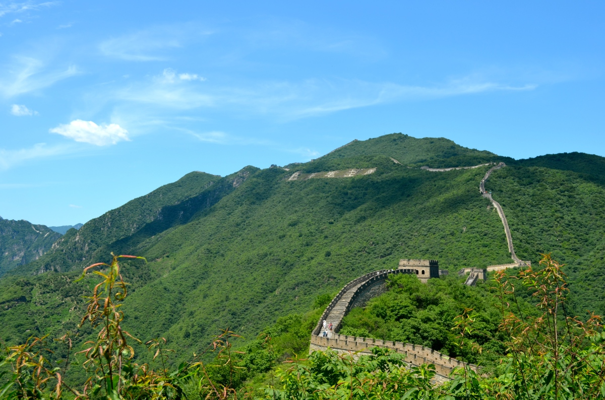 Climbing the Great Wall ofChina