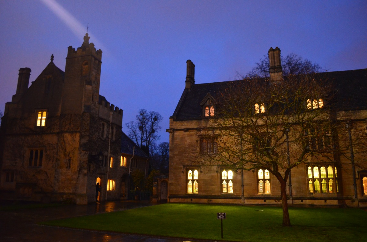 Formal Dinner at St Hughs CollegeOxford