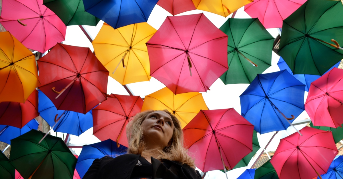 London's Secret UmbrellaStreet