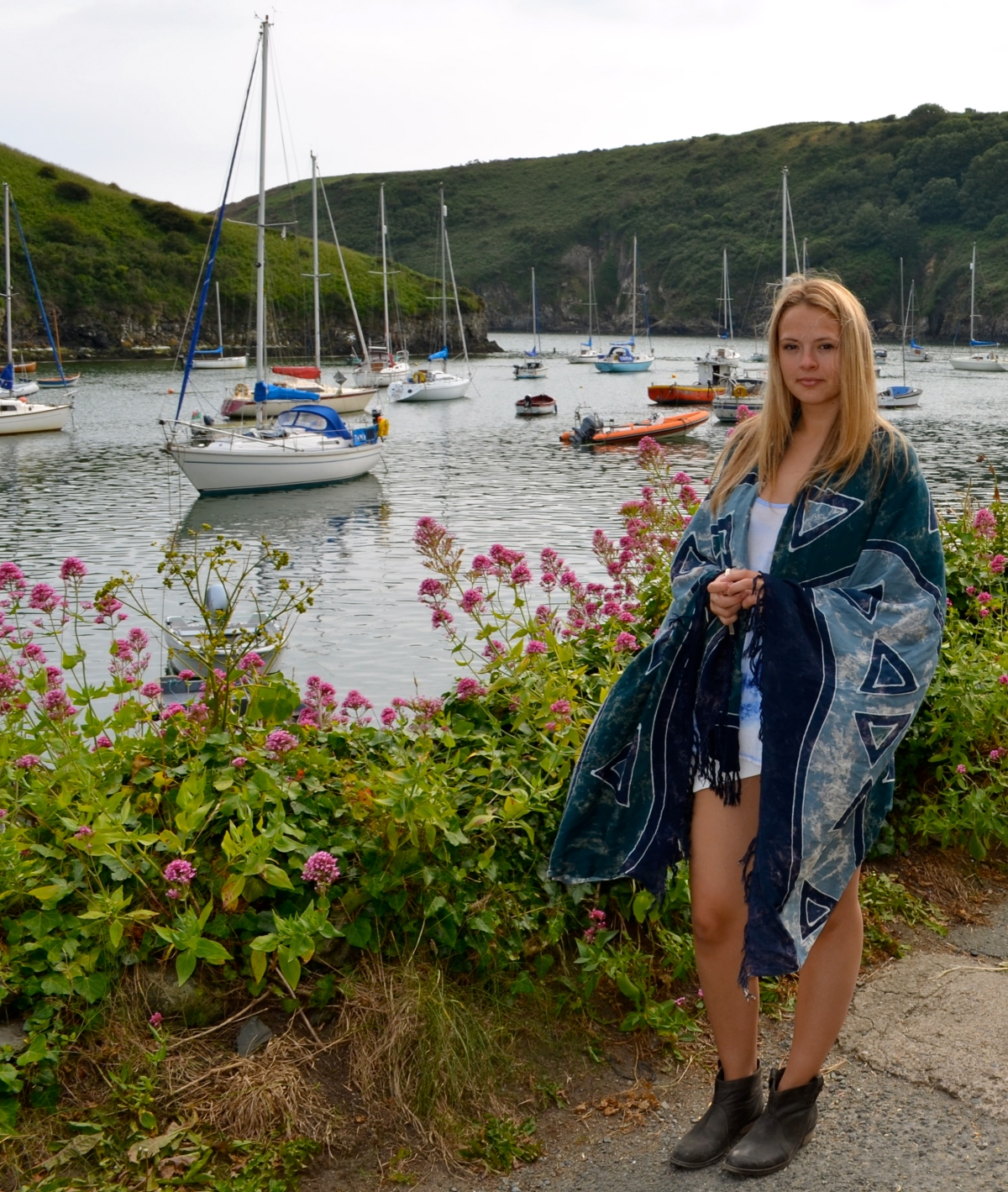 Filming Under Milk Wood, Tie Dye and the BlueLagoon