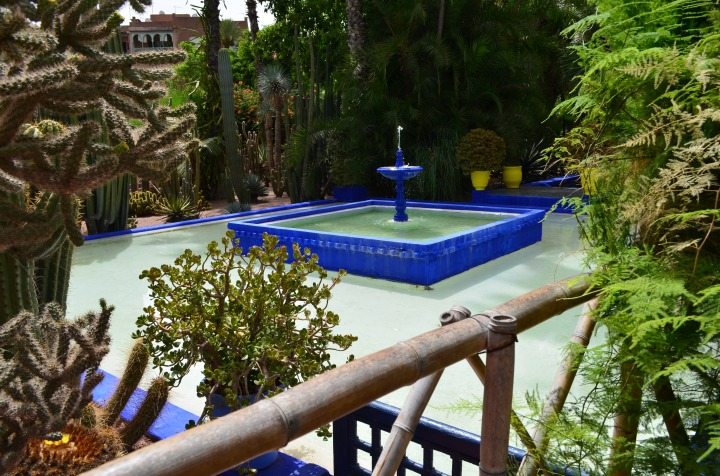 Yves Saint- Laurent and the Majorelle Gardens