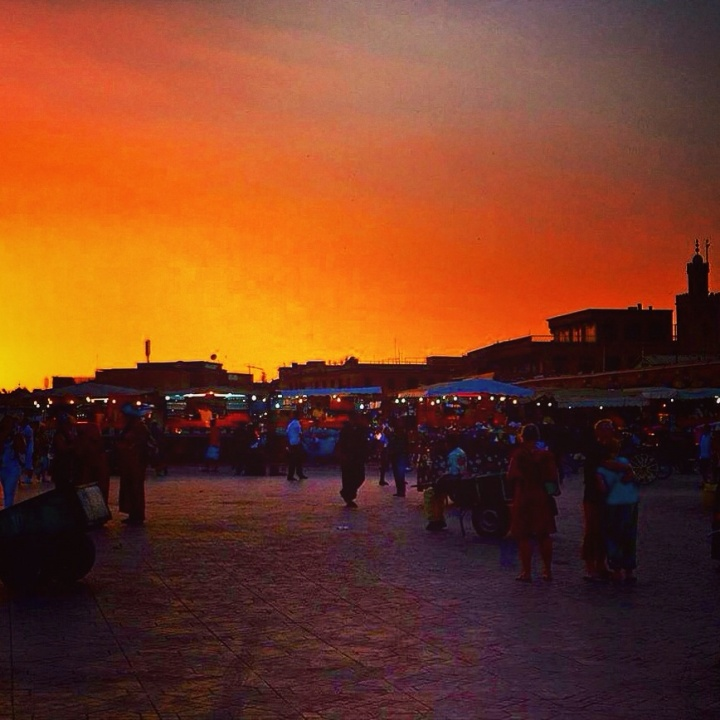 Snakes, Monkeys and Spicy Sunsets at Place de Jemaa el Fnaa