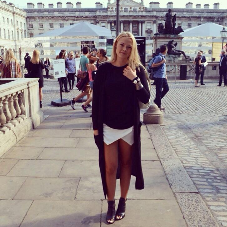 Day 2 London Fashion Week: Monochrome BackpackKids