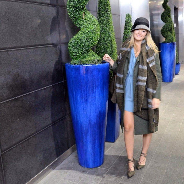 Fall Trends: Army Green and ClocheHats