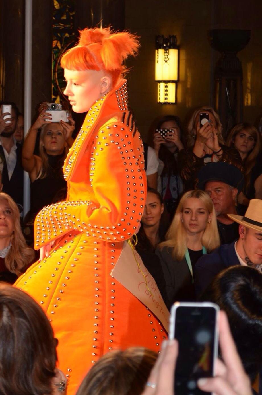 Pam Hogg SS16 London FashionWeek
